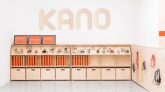 Workspace Furniture for Kano office designed in London and made locally