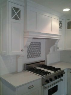 Mason kitchen range hood