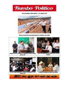 Iissuu martes 6 de junio  RUMBO POLITICO NOTICIAS Y COLUMNAS GENERADAS EN CHIAPAS MEXICO