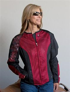 Joe Rocket Cleo 2.2 Jacket Sizing.....how cool is this??!! A great addition to any ride, or rider, for that matter! :-)