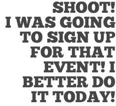 Last Minute Sign-Ups | Chuck Scoggins | Web + Print + Video Design