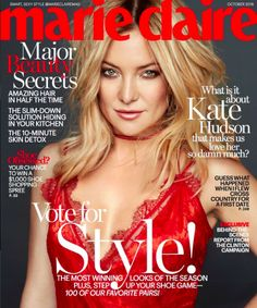Kate Hudson Marie Claire