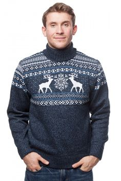 Обзор лучших свитеров с оленями (норвежским рисунком) от Носисвоё!
