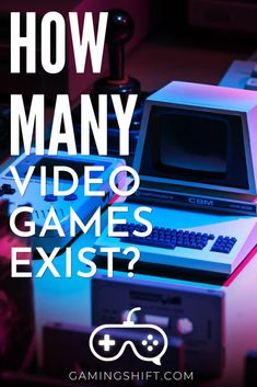 If you ever wondered how many video games exist? This is the time to find out. After much research, there is an actual number to it. All Video Games, First Video Game, Video Game Reviews, Video Game Memes, Gaming Tips, Gaming Memes, Playstation 4 Console, Playstation 5, Jam Games