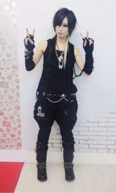 Akira wearing SEX POT ReVeNGe