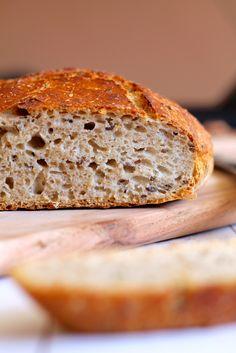Grydebrød - verdens bedste og nemmeste brød Healthy Living, Recipies, Brunch, Anna, Bread, Baking, Food, Danish, Bakery Business
