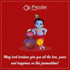 #pixcubestudio wishing you #happy #janmashtami
