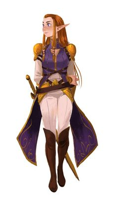 Maybe its just me but this version of Zelda reminds me of Captain Amelia from the movie Treasure Planet (From a Legend of Zelda Art Jam)