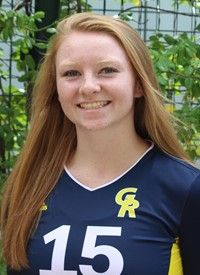 Grand Rapids Community College volleyball player Emily Farwell was named to the NJCAA's 2017 All-Academic Third Team.