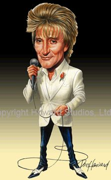 ABOUT ROD - News, November 4, 2009: Don Howards new Rod caricature is now ready!
