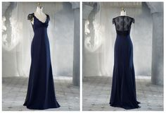 How fabulous would this have been for a bridesmaid's dress!?!