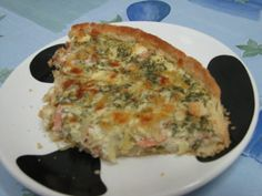 Lohipiirakka - Kotikokki.net - reseptit Quiche, Food And Drink, Eat, Cooking, Breakfast, Red Peppers, Cuisine, Kitchen, Quiches