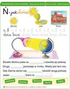 Włącz Polskę- Polska-szkola.pl Teaching Tips, Montessori, Hand Lettering, Science, Map, Education, School, Polish, Vegetables