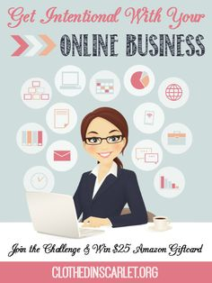 Get Intentional with Your Online Business is a blog series created to help you move forward with your blog/business in 2015. Take the challenge! Join us and get intentional with your online business!