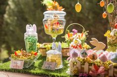 Sweet table, Candy bar Pâque, Easter Lemons and Love