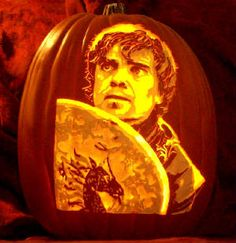 Game Of Thrones Tyrion Pumpkin carving