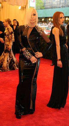 Donatella Versace. (Photo: Jennifer Altman for The New York Times)