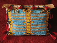 BEADED  POSSIBLE TIPI TEEPEE BAG  BEADWORK  PURSE SIOUX STYLE | Collectibles, Cultures & Ethnicities, Native American: US | eBay!