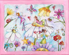 Hey, I found this really awesome Etsy listing at https://www.etsy.com/listing/22052786/fairy-princess-nursery-art-print-16x20