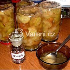 Skvělý jablečný kompot recept - Vareni.cz Pickles, Cucumber, Cooking, Kitchen, Pickle, Brewing, Cuisine, Zucchini, Cook