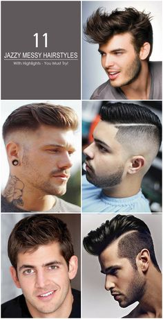 These jazzy hairstyles are very much adorable for the people who has long hair . There are various colorful sprinkle designs for hair in this collection. If you apply some of these in yourself you may look elegant. Visit here to get your desired.  #Men'sHairstylesWithHighlights #hairstylesformen