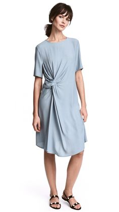 add91fc382bd Crepes, Lady Grey, Blue Dresses, Dresses For Work, Crepe Dress, Woven