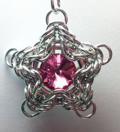 Wishing Star Chainmaille Tutorial by CaysCraftyCreations on Etsy