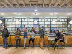 The bar at Royal Palms Shuffleboard Club, Gowanus, Brooklyn, New York City. Palms, New York City, Brooklyn, Stuff To Do, Club, Bar, Palmas, New York, Nyc