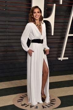 Jessica Alba Dress at Oscars Vanity Fair Party 2016   POPSUGAR Latina