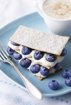 fresh blueberry napoleon recipe