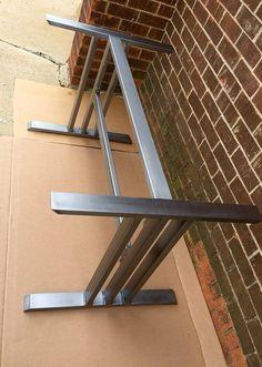 Base de mesa de comedor de diseño robusta y resistente Base