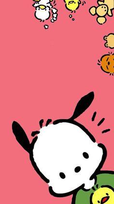Pochacco iphone wallpapers мультфильмы обои แ ล ะ картинки. Sanrio Wallpaper, K Wallpaper, Cute Girl Wallpaper, Cute Wallpaper For Phone, Kawaii Wallpaper, Pattern Wallpaper, Cute Wallpapers For Ipad, Cute Wallpapers Quotes, Cute Cartoon Wallpapers