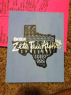 Baylor ZTA though <3 zeta tau alpha zetataualpha zlam sorority texas