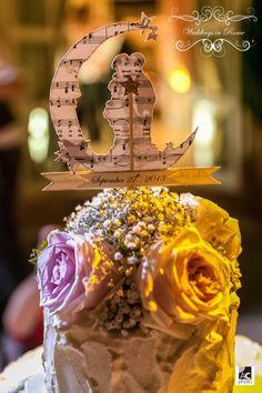Delicious...! C&J wedding cake. www.weddingsinrome.com