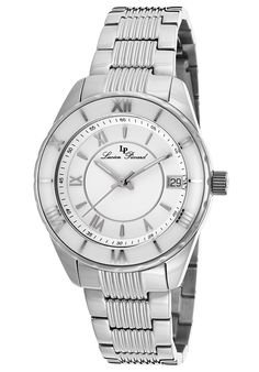 Lucien Piccard Saraille Stainless Steel White Dial SSLucien Piccard 12741-22-WCB Watch