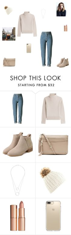 """New York"" by synclairel ❤ liked on Polyvore featuring Vanessa Seward, Witchery, Charlotte Tilbury and Speck"