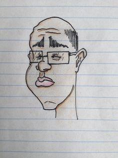 A random caricature