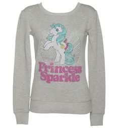 Ladies Glittery My Little Pony Princess Sparkle Sweater