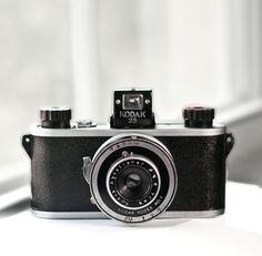 Kodak 35 1st version   vintage camera  35mm  by VintageCameraClub, $149.00