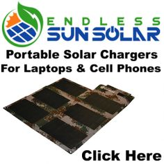 Campers : Solar Charges - for laptops and mobile phones
