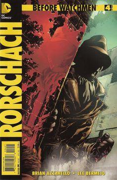 Before Watchmen: Rorschach #4 Variant