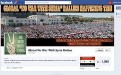 """""""Flash Mob of Protests"""": """"No War With Syria"""" Rallies Planned in Over 70 Cities for Saturday, 8/31 » WTF RLY REPORT"""