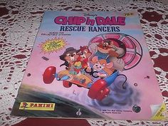 VINTAGE CHIP N DALE RESCUE RANGERS ACTIVITY BOOK STICKER COLORING 1989 DISNEY