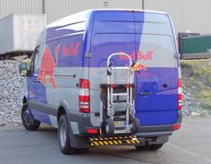 Mercedes 3500 Sprinter cargo delivery van equipped with HTS Systems' patented Hand Truck Sentry System. A standard commercial hand truck can also take-up cubic feet of valuable cargo space when transporting the hand cart inside the van interior. Hand Cart, Van Interior, Cargo Van, Ford Transit, Truck Accessories, The Unit, Trucks, Atelier