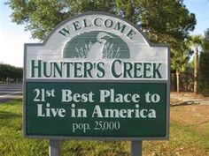 Hunters Creek FL, Best Place to Live in America! Best Places To Live, Just For Laughs, Estate Homes, Orlando, Luxury Homes, The Neighbourhood, Sweet Home, Florida, Hunters