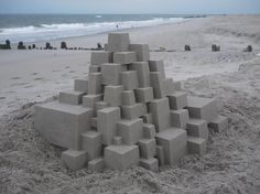 Sculptor Calvin Seibert crafts the most awe-inspiring sand castles. #sculpture #sand #beach