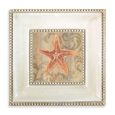 Starfish Swirl Wall Art - BedBathandBeyond.com