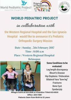 World Pediatric Project Orthopedic Surgery Mission 2017