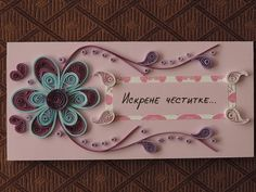 Quilling design (no link) Quilling Craft, Quilling Flowers, Quilling Patterns, Quilling Designs, Paper Quilling, Quilling Ideas, Hobbies And Crafts, Diy And Crafts, Paper Crafts