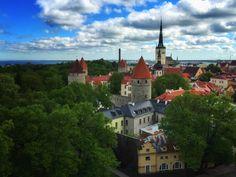 Old Town Tallinn Estonia [OC] [2997x2248]